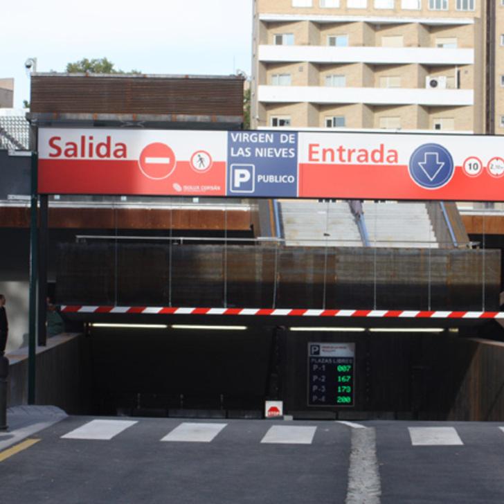 Öffentliches Parkhaus IC VIRGEN DE LAS NIEVES (Überdacht) Granada