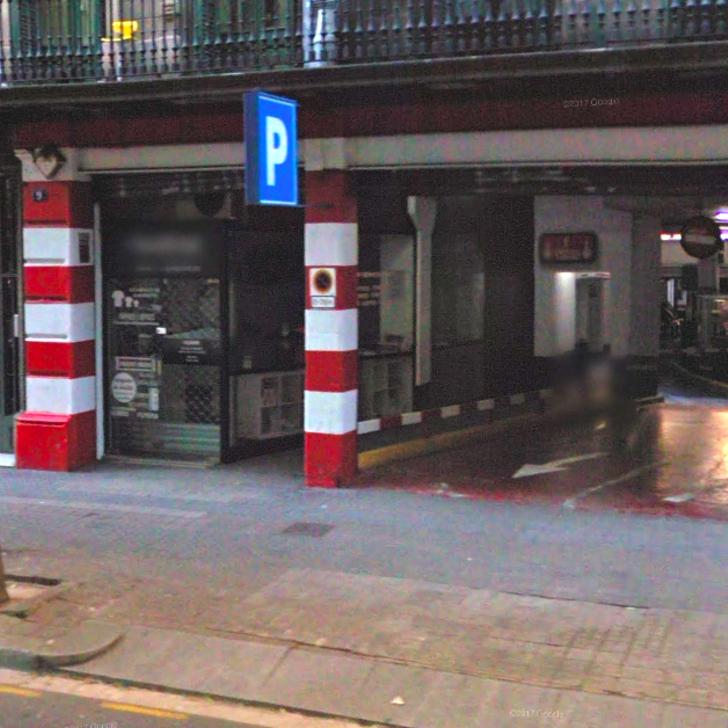 Öffentliches Parkhaus ROMARA (Überdacht) Parkhaus Barcelona