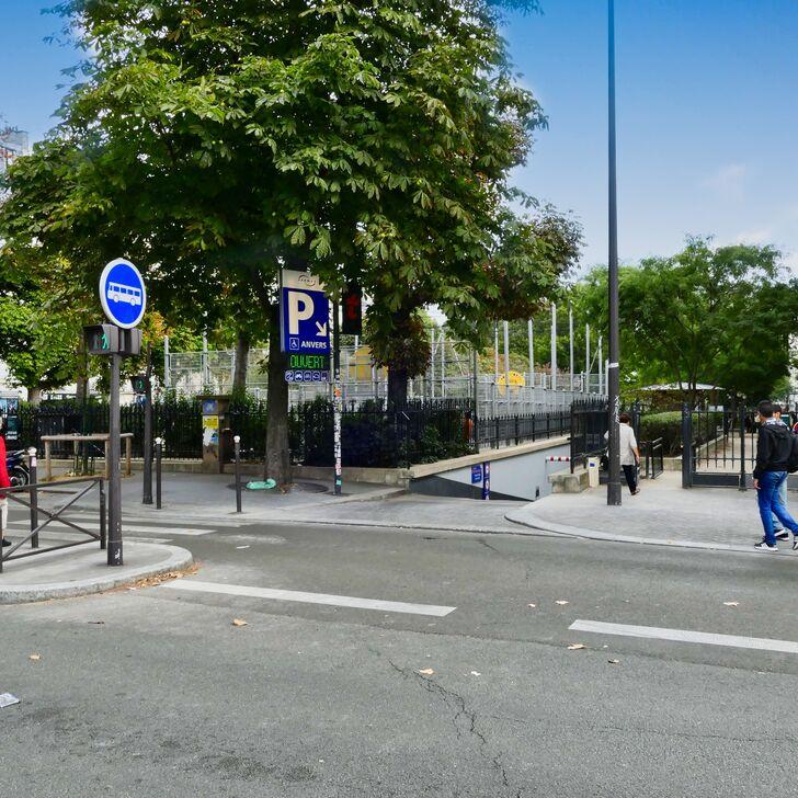 Parking Public SAEMES ANVERS (Couvert) Paris