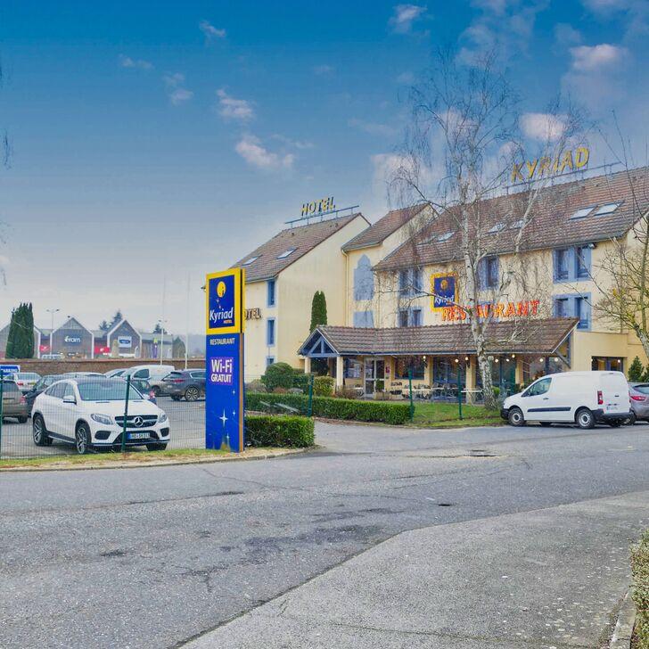 Parque de estacionamento Parking Hôtel KYRIAD BEAUVAIS SUD (Extérieur) Beauvais