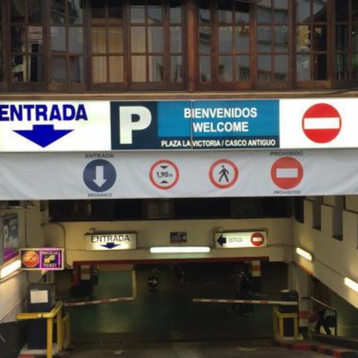 Öffentliches Parkhaus PARKIA PLAZA DE LA VICTORIA (Überdacht) Marbella