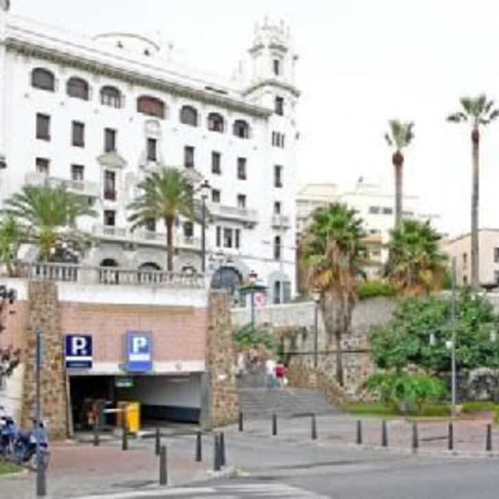 Öffentliches Parkhaus IC LA MARINA (Überdacht) Parkhaus Ceuta