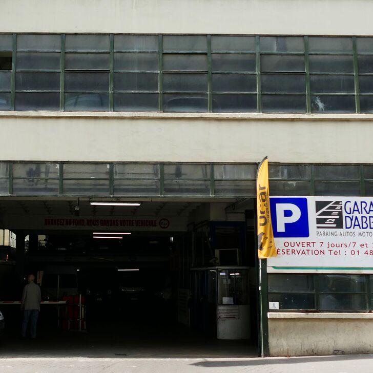 Parque de estacionamento Parking Public GARAGE D'ABBEVILLE (Couvert) Paris