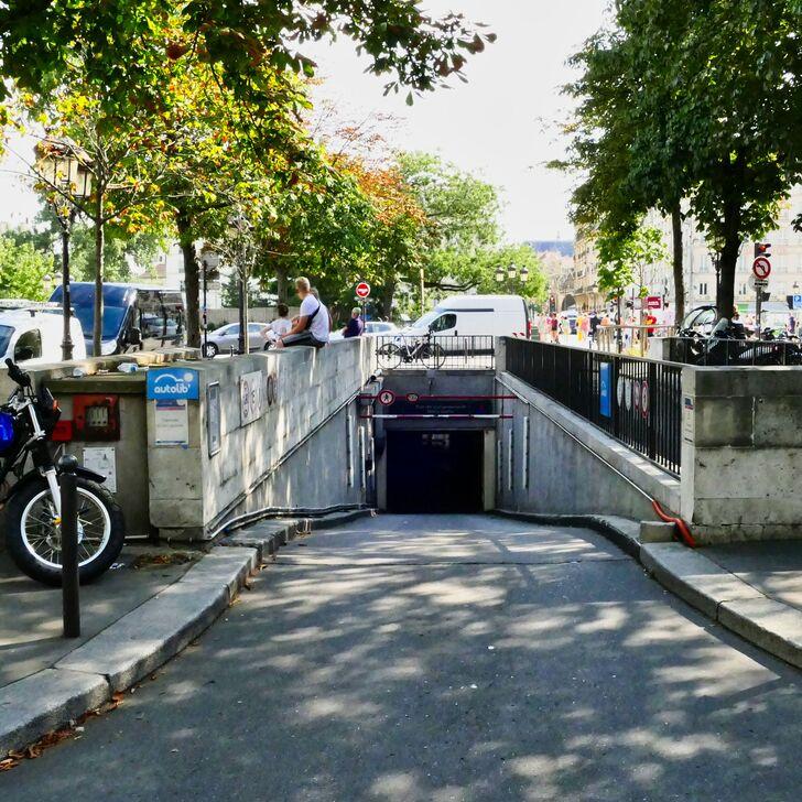 SAEMES NOTRE-DAME Openbare Parking (Overdekt) Parkeergarage Paris