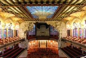 Palau de la Música Catalana car park: prices and subscriptions - Theater car park | Onepark