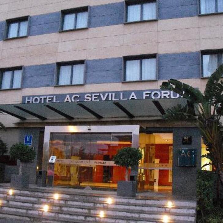 Hotel Parkhaus AC HOTEL BY MARRIOTT SEVILLA FORUM (Überdacht) Parkhaus Sevilla