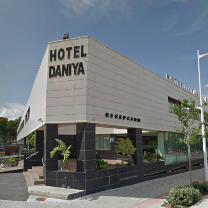 DANIYA ALICANTE Hotel Parking (Exterieur)  Alicante
