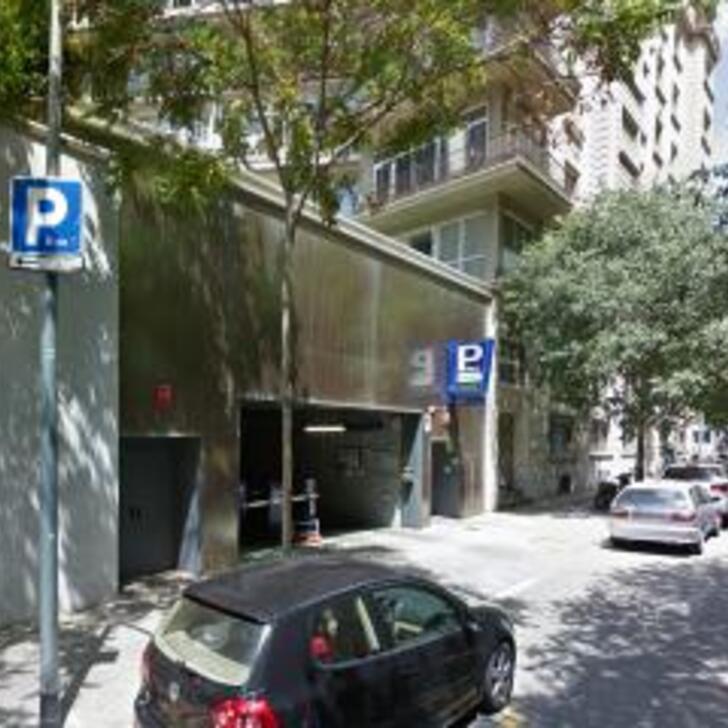 Hotel Parkhaus MELIÁ LORETO - APK2 (Überdacht) Parkhaus Barcelona