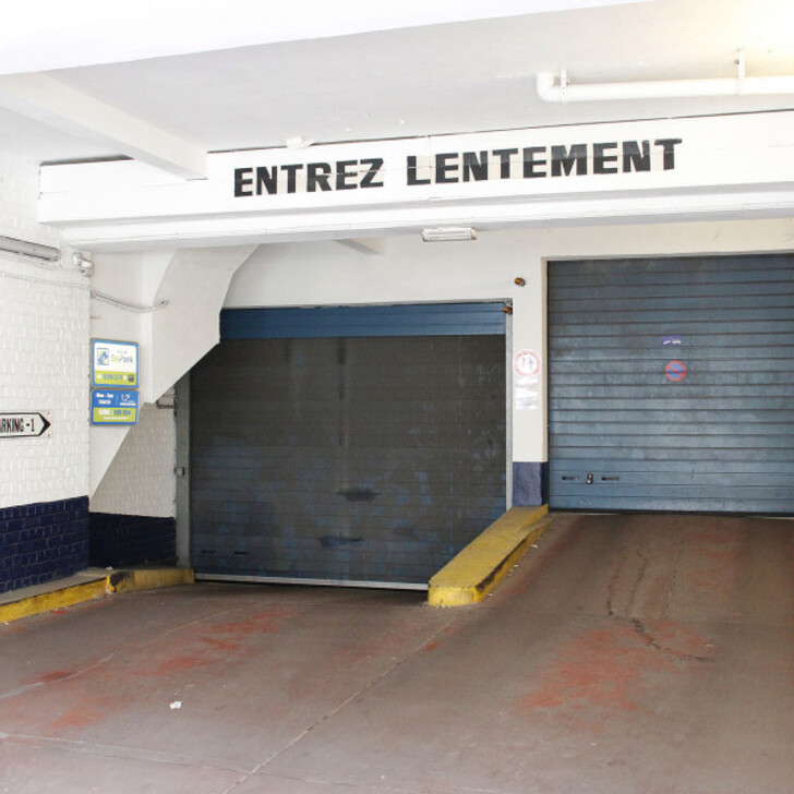 BEPARK MONTGOMERY (GAUCHE) Openbare Parking (Overdekt) Woluwe Saint-Lambert