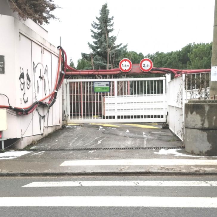 Öffentliches Parkhaus BEPARK PLACE JEAN JAURÈS - PRÉ-GAUDRY 46 (Überdacht) Lyon