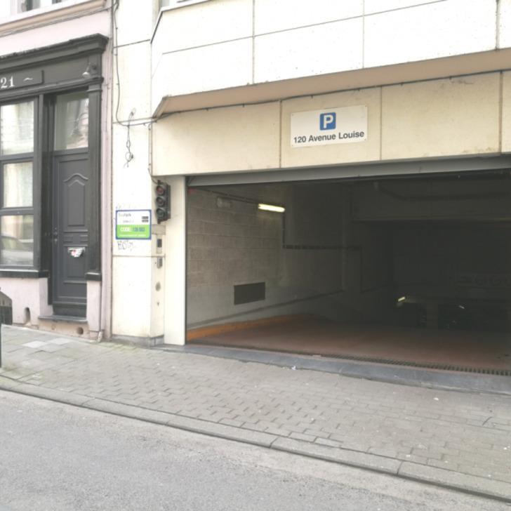 Öffentliches Parkhaus BEPARK AVENUE LOUISE 120 (Überdacht) Parkhaus Bruxelles