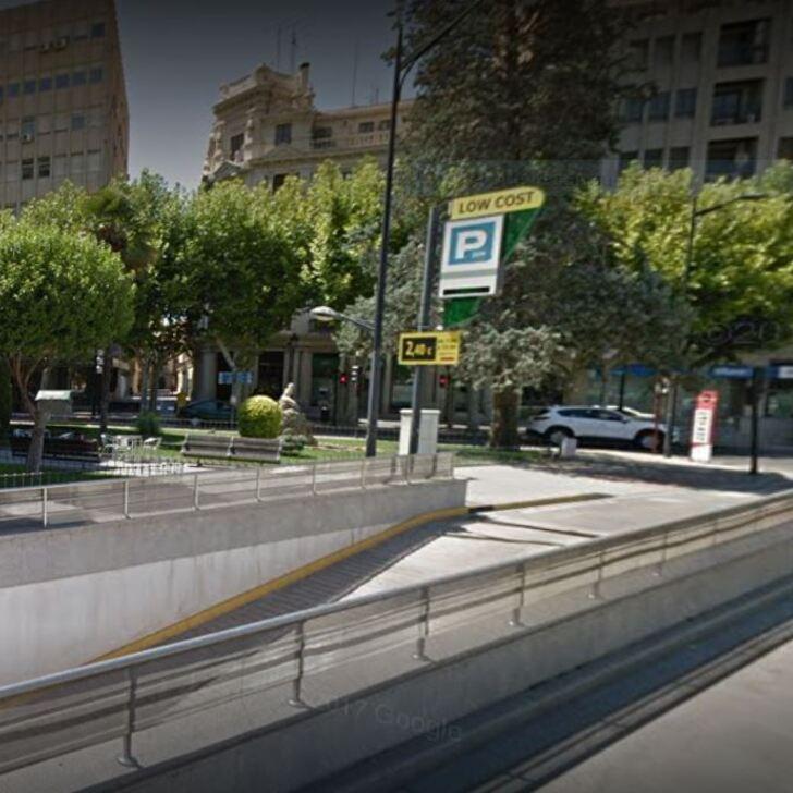 Öffentliches Parkhaus APK80 SEMBRADOR (Überdacht) Albacete