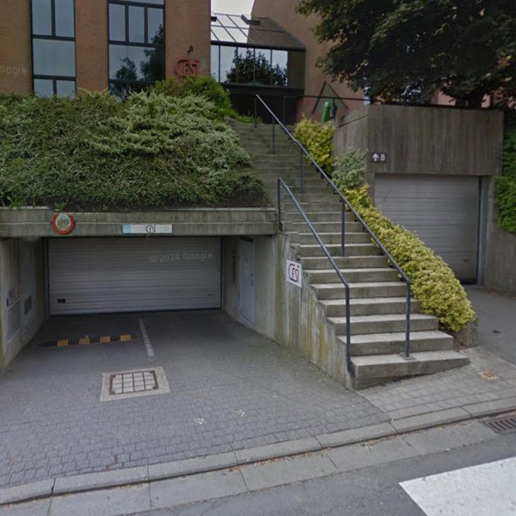Privatgelände Parkplatz CESI (Überdacht) Bruxelles