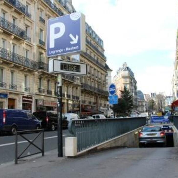 Parking Public SAEMES LAGRANGE-MAUBERT (Couvert) Paris