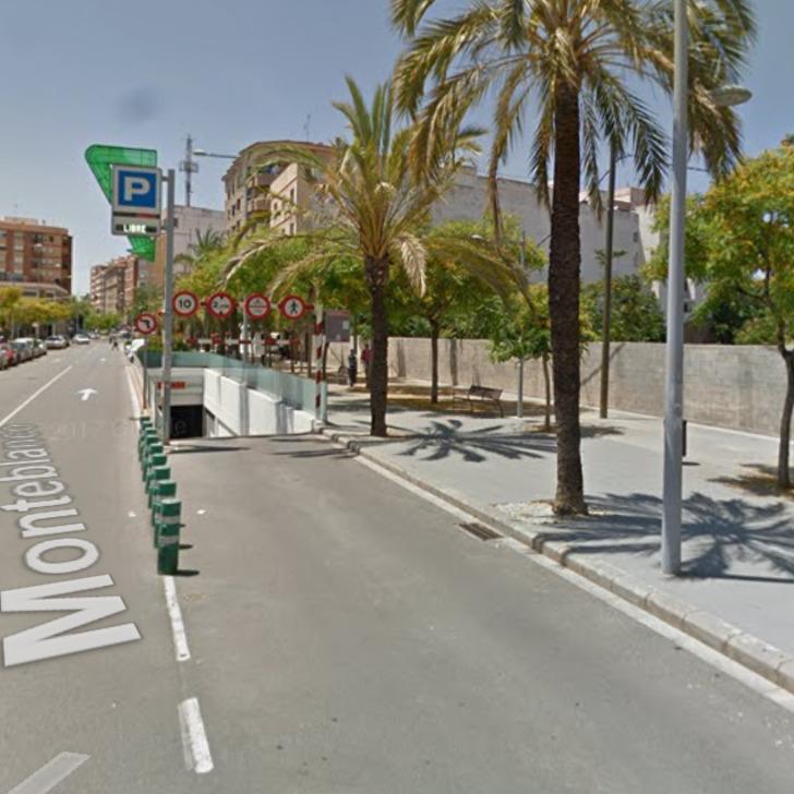 Öffentliches Parkhaus II APK80 HOSPITAL PROVINCIAL CASTELLÓN (Überdacht) Castelló de la Plana