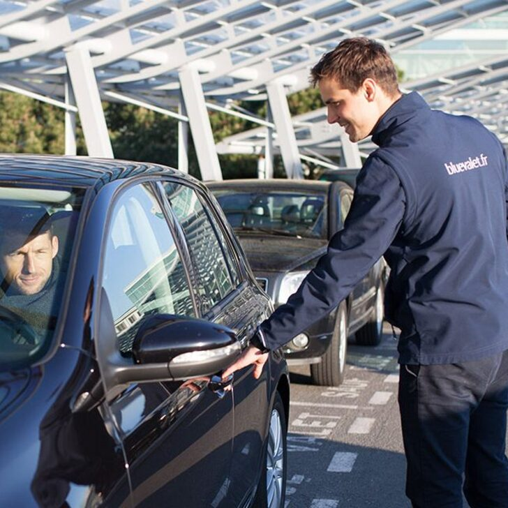 Parking Servicio VIP BLUE VALET (Cubierto) Paris