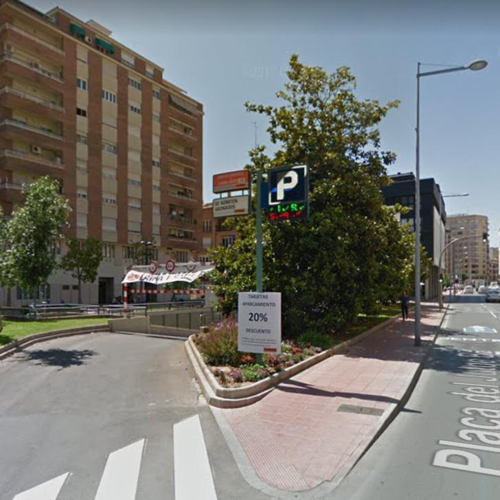 Öffentliches Parkhaus APK80 BORRULL (Überdacht) Castelló