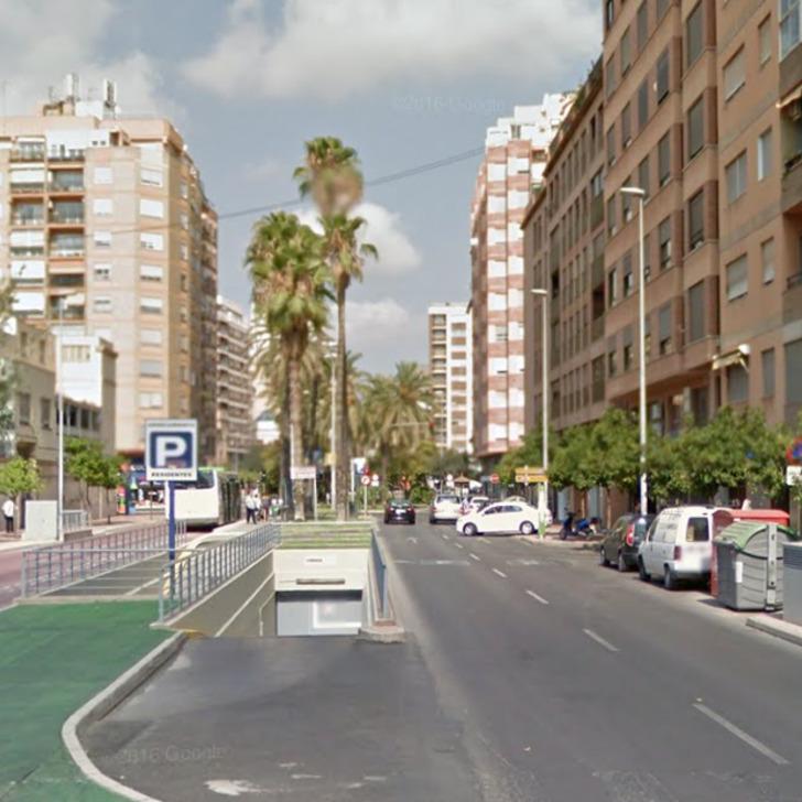 Öffentliches Parkhaus II APK80 AVDA. DEL MAR (Überdacht) Castelló