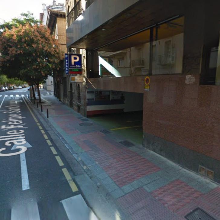 SAN CLEMENTE Openbare Parking (Overdekt) Zaragoza