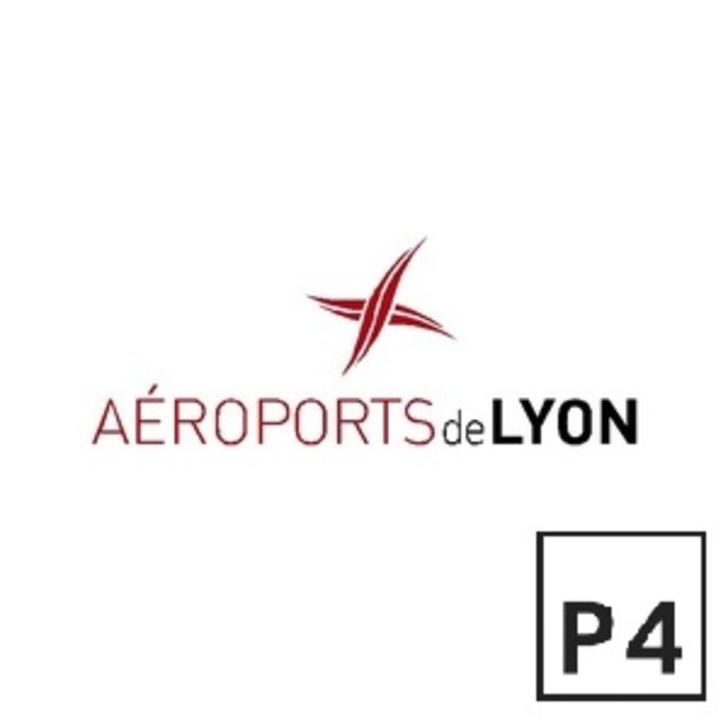 Offiziell Parkhaus P4 AÉROPORT DE LYON SAINT-EXUPÉRY (Extern) Parkhaus Colombier-Saugnieu