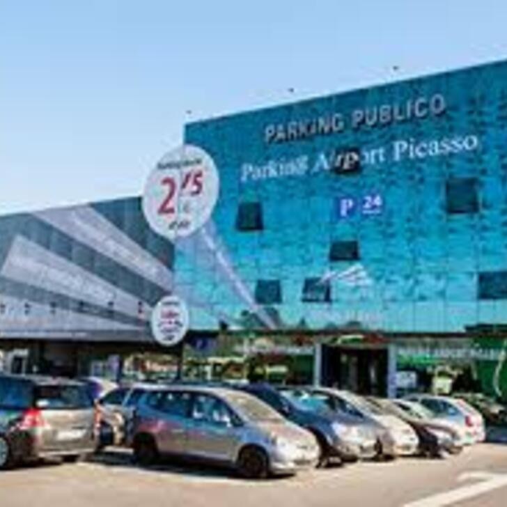 AIRPORT PICASSO Discount Parking (Overdekt) Parkeergarage Málaga
