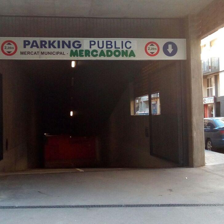 Parking Public MERCAT DE SANT ADRIÀ (Couvert) Sant Adrià del Besòs, Barcelona