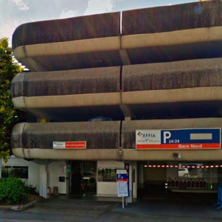 EFFIA GARE DE NANTES Nord - Lange Duur Officiële Parking (Overdekt) Parkeergarage NANTES