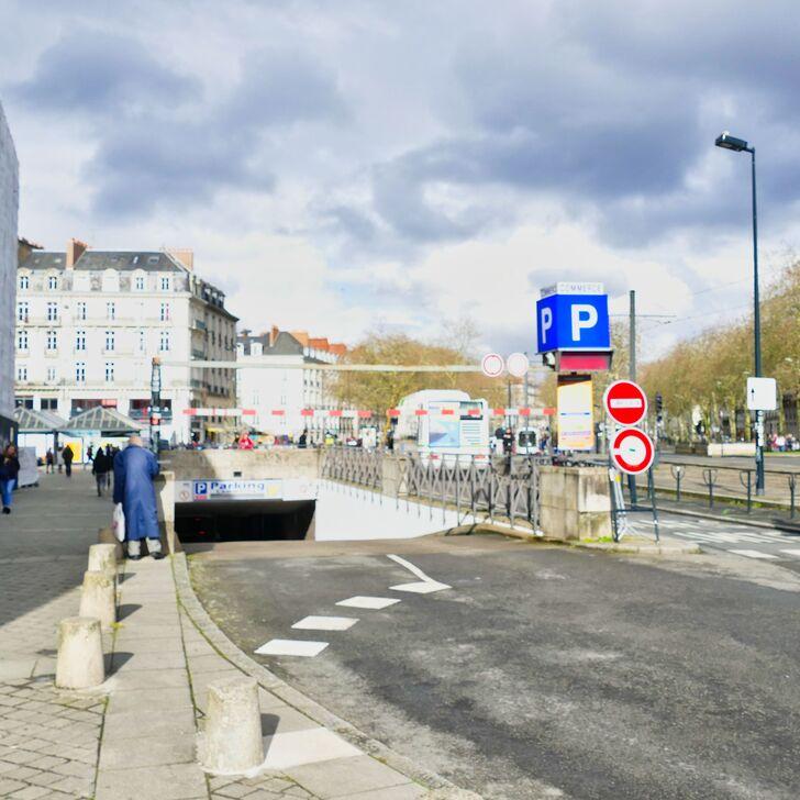 Öffentliches Parkhaus NGE COMMERCE (Überdacht) Nantes