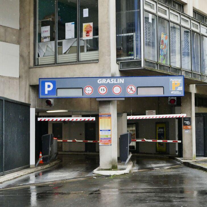 Parking Público NGE GRASLIN (Cubierto) Nantes