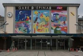 Parking Gare d'Épinal à Épinal : tarifs et abonnements - Parking de gare | Onepark