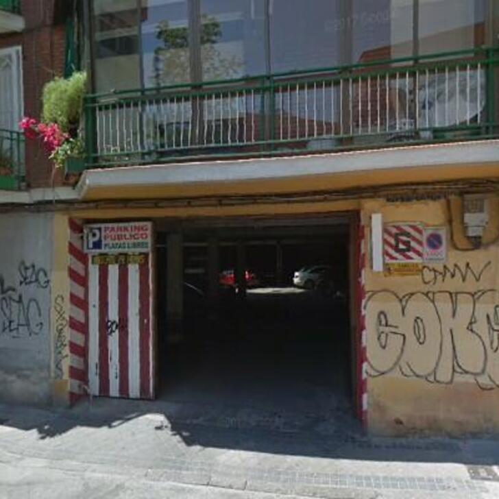 Öffentliches Parkhaus LA MADRILEÑA (Überdacht) Madrid