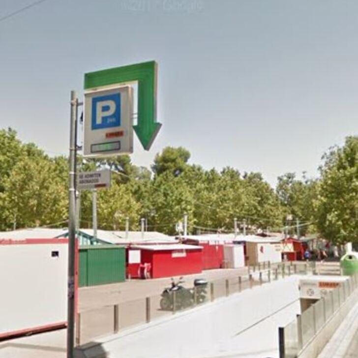 Öffentliches Parkhaus APK80 FERIA DE ALBACETE (Überdacht) Parkhaus Albacete