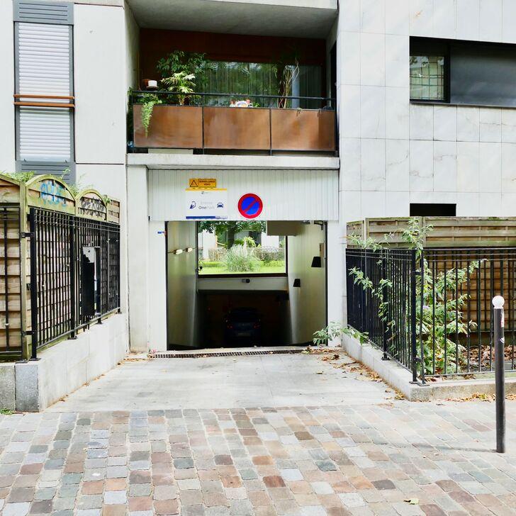 Parcheggio Edificio RUE FRANÇOIS TRUFFAUT (Coperto) parcheggio Paris