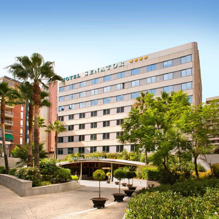 Parque de estacionamento Parking Hôtel SENATOR BARCELONA SPA (Couvert) Barcelona