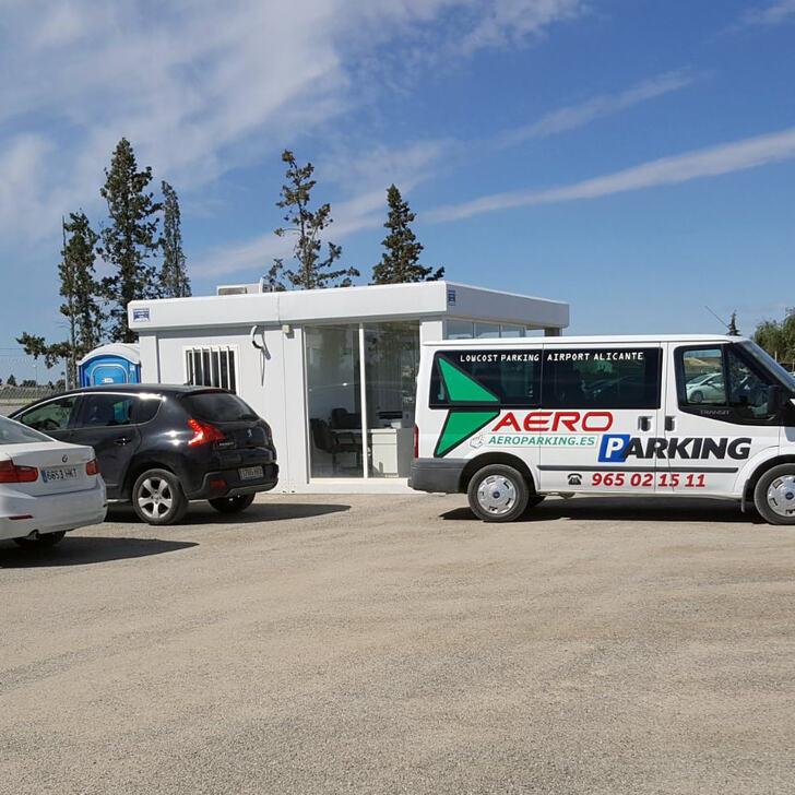 Discount Parkhaus AEROPARKING (Extern) Alicante