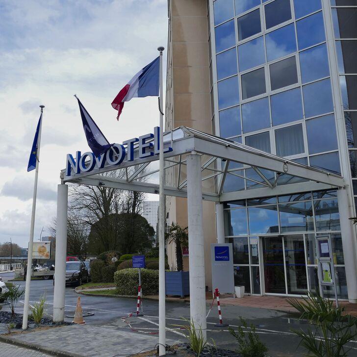 Parking Hôtel NOVOTEL NANTES CENTRE BORD DE LOIRE (Couvert) Nantes
