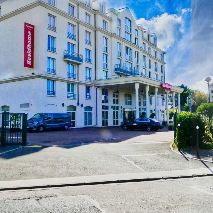 Parque de estacionamento Parking Hôtel RESIDHOME ROISSY-PARK (Couvert) Roissy-en-France