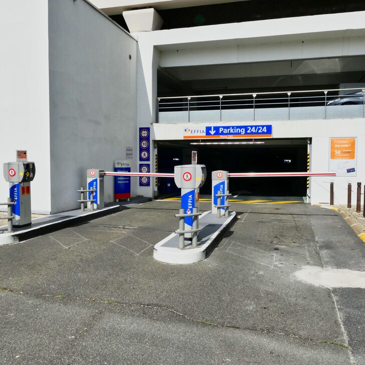 Parking Oficial EFFIA GARE DE MASSY TGV (Cubierto) MASSY