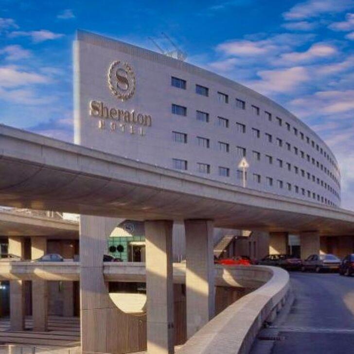 Parque de estacionamento Parking Hôtel SHERATON PARIS AIRPORT HOTEL & CONFERENCE CENTRE (Extérieur) Roissy