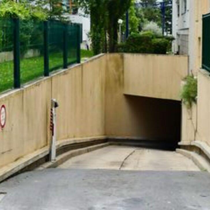 Privatgelände Parkplatz RUE JORGE SEMPRUN (Überdacht) Parkhaus Paris