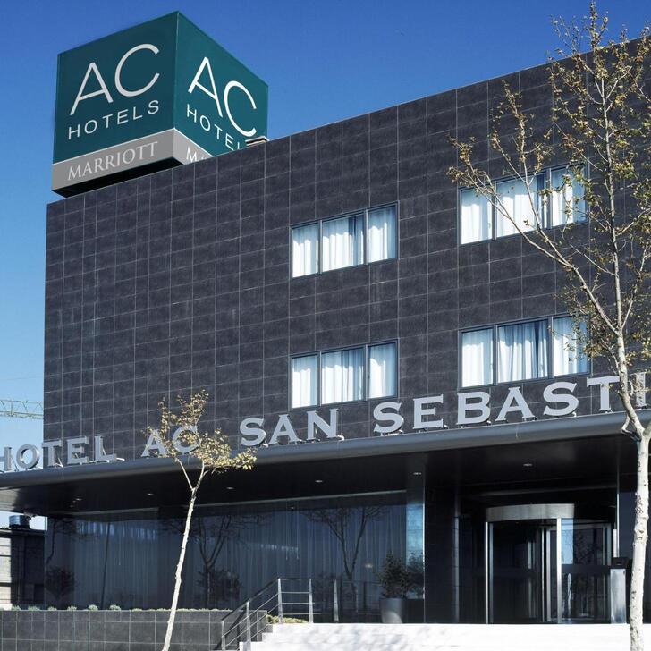 AC SAN SEBASTIÁN DE LOS REYES Hotel Parking (Exterieur) Parkeergarage San Sebastián de los Reyes