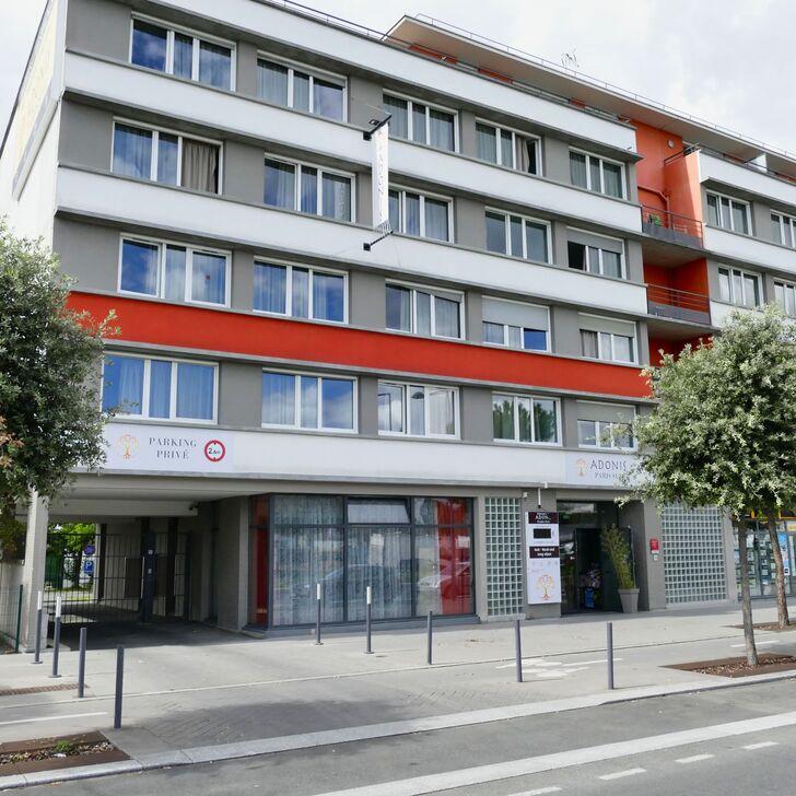 Parcheggio Hotel ADONIS PARIS SUD (Esterno) parcheggio Chevilly-Larue