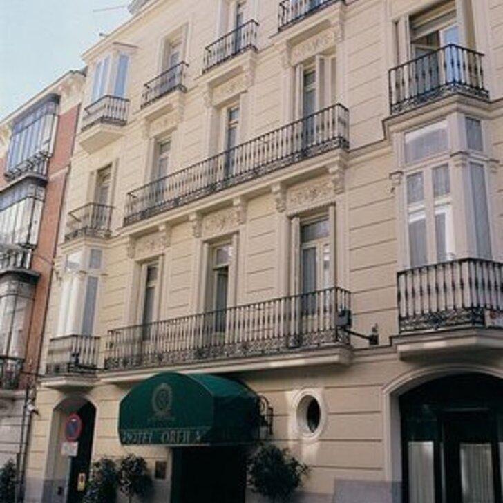 Parking Hôtel ORFILA RELAIS & CHÂTEAUX (Couvert) Madrid