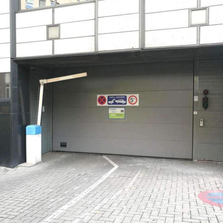 BEPARK GARE DE BRUXELLES-LUXEMBOURG Öffentlich Parkhaus (Überdacht) Parkhaus Ixelles