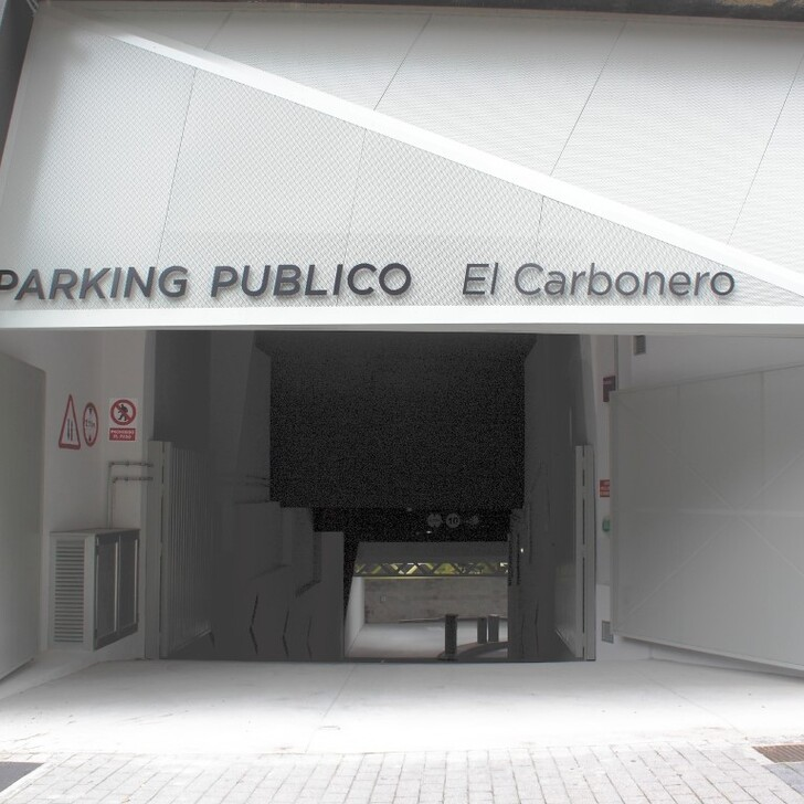 Öffentliches Parkhaus EL CARBONERO (Überdacht) Parkhaus Oviedo