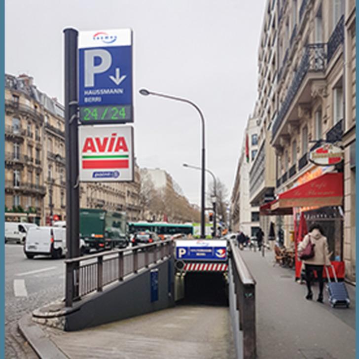 Parking Público SAEMES HAUSSMANN BERRI (Cubierto) PARIS