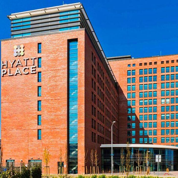 HYATT PLACE AMSTERDAM AIRPORT Hotel Parking (Exterieur) Parkeergarage Hoofddorp