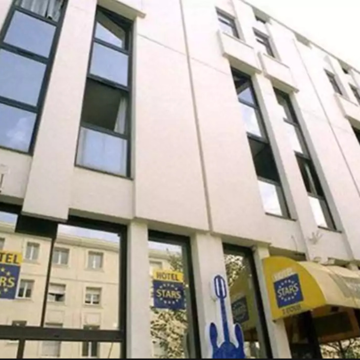 Parking Hotel STARS BORDEAUX GARE (Cubierto) Bordeaux