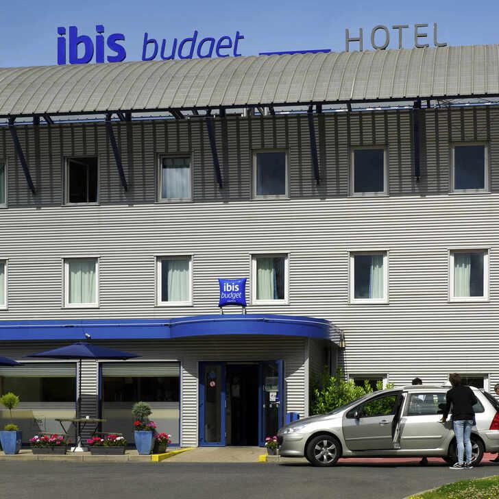 Parque de estacionamento Parking Hôtel IBIS BUDGET CHARLEROI AIRPORT (Extérieur) Fleurus, Belgique