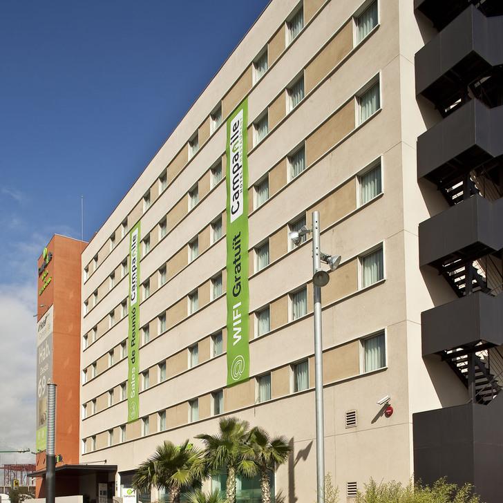 Hotel Parkhaus CAMPANILE BARCELONA SUD-CORNELLÀ (Überdacht) Cornellà de Llobregat, Barcelona